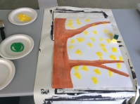 Paint of a tree