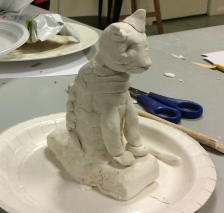 animal sculpture elementary