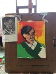 Picasso multi-media collage
