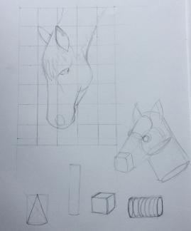 Turning shapes into animals