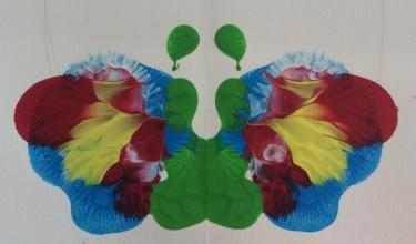 Early Childhood blob prints