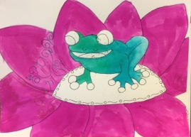Frogs art competition (Saturday)